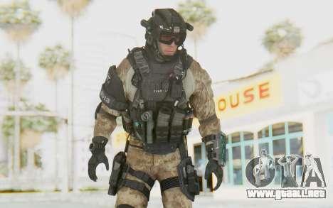 Federation Elite Assault Desert para GTA San Andreas