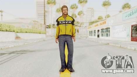 Dead Rising 3 Chuck Greene on DR2 Outfit para GTA San Andreas segunda pantalla