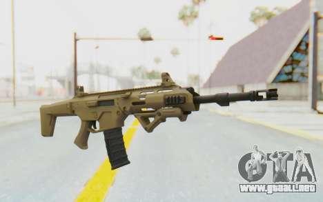 MSBS Radon Ironsight para GTA San Andreas segunda pantalla