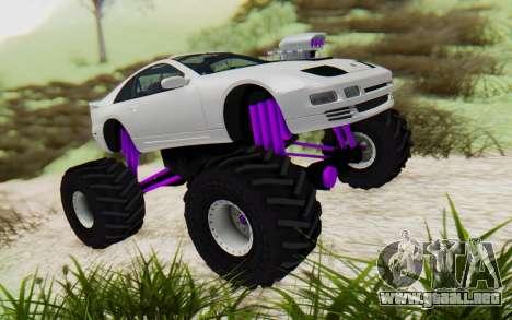 Nissan 300ZX Monster Truck para la visión correcta GTA San Andreas