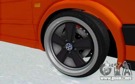 Volkswagen Golf 2 GTI 1.6V para GTA San Andreas vista hacia atrás