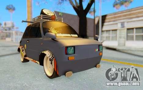 Fiat 126 para la visión correcta GTA San Andreas