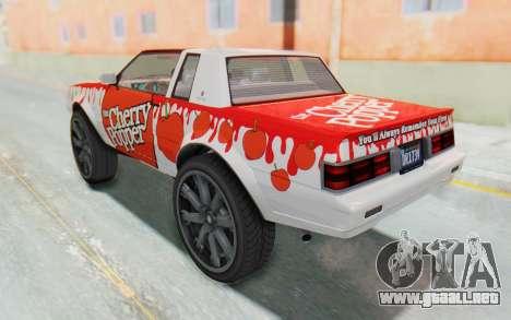 GTA 5 Willard Faction Custom Donk v1 IVF para la vista superior GTA San Andreas