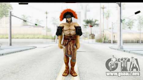 God of War 3 - Hercules v1 para GTA San Andreas segunda pantalla