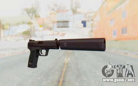 H&K 45 Silenced para GTA San Andreas segunda pantalla