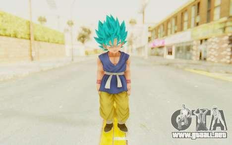 Dragon Ball Xenoverse Goku Kid GT SSGSS para GTA San Andreas segunda pantalla