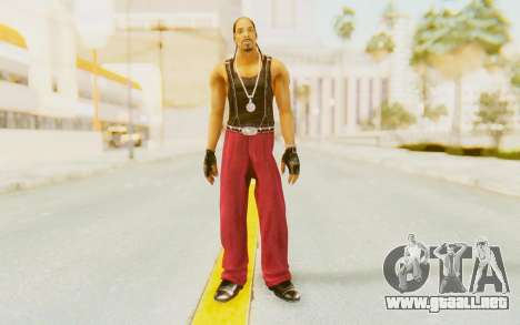 Def Jam Fight For New York - Snoop Dogg para GTA San Andreas segunda pantalla