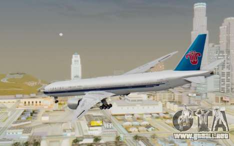 Boeing 777-300ER China Southern Airlines para GTA San Andreas left