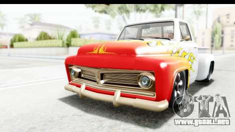 GTA 5 Vapid Slamvan without Hydro para GTA San Andreas interior