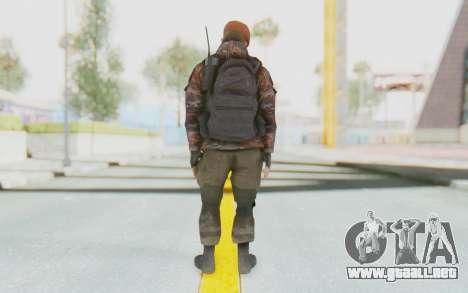 COD MW2 Russian Paratrooper v4 para GTA San Andreas tercera pantalla