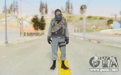 COD BO Bruce Harris Winter para GTA San Andreas segunda pantalla