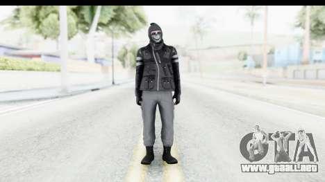 GTA Online Skin (Heists) para GTA San Andreas segunda pantalla