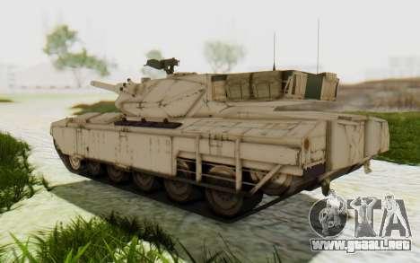 MGSV Phantom Pain M84A MAGLOADER para la visión correcta GTA San Andreas