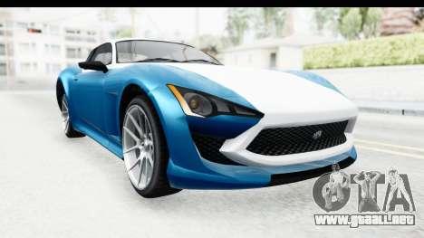 GTA 5 Lampadati Furore GT SA Lights para la visión correcta GTA San Andreas