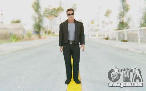 WWE2k16 Arnold Schwarzenegger Terminator para GTA San Andreas segunda pantalla