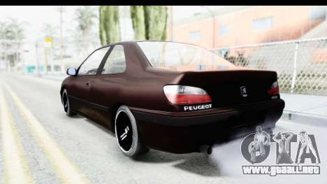 Peugeot 406 Coupe para GTA San Andreas left