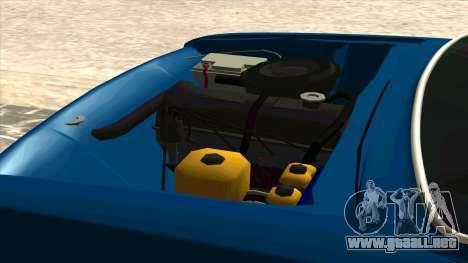 VAZ 21011 para GTA San Andreas vista hacia atrás