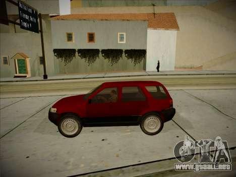 Ford Escape 2005 para visión interna GTA San Andreas