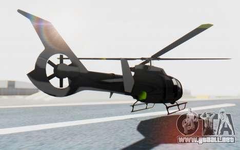 GTA 5 Maibatsu Frogger Civilian IVF para GTA San Andreas left