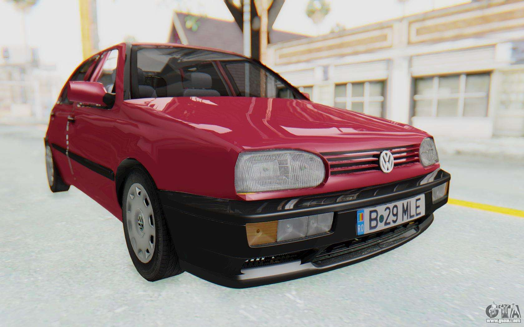 volkswagen golf 3 1994 para gta san andreas. Black Bedroom Furniture Sets. Home Design Ideas