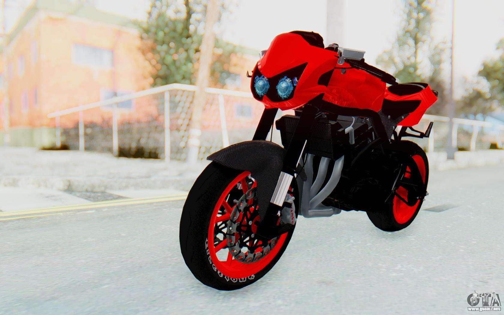 Kawasaki Ninja 250R Streetrace Naked for GTA San Andreas
