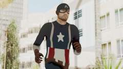 Trevor in Captain America Suit para GTA San Andreas