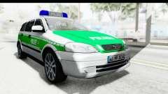 Opel Astra G Variant Polizei Bayern