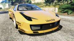 Ferrari 458 Spider [Liberty Walk]