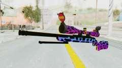 Sniper para GTA San Andreas