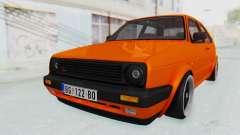 Volkswagen Golf 2 GTI 1.6V para GTA San Andreas