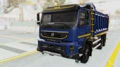 Volvo FMX 6x4 Dumper v1.0 Color para GTA San Andreas