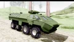 Lazar Serbian Armored Vehicle para GTA San Andreas