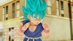 Dragon Ball Xenoverse Goku Kid GT SSGSS para GTA San Andreas