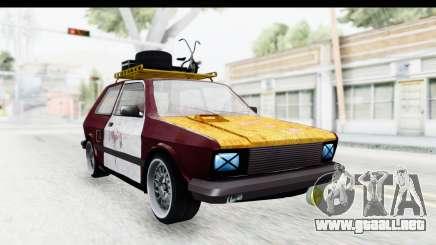 Zastava Yugo Koral Rat Style para GTA San Andreas