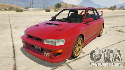 1998 Subaru Impreza 22B-STi Series I para GTA 5