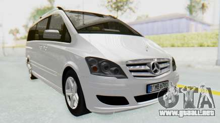 Mercedes-Benz Viano W639 2010 Long Version para GTA San Andreas