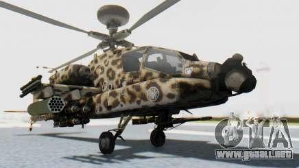 AH-64 Apache Leopard para GTA San Andreas