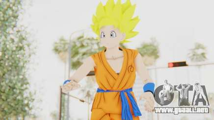 Dragon Ball Xenoverse Female Saiyan SSJ para GTA San Andreas
