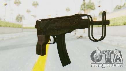 VZ-61 Skorpion Fold Stock Tiger Stripes Camo para GTA San Andreas