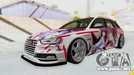 Audi S4 Avant Yurippe Angel Beats Itasha para GTA San Andreas