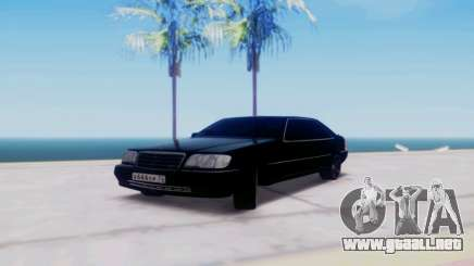 Mercedes-Benz MB W140 1999 para GTA San Andreas