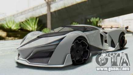 GTA 5 Grotti Prototipo v2 para GTA San Andreas