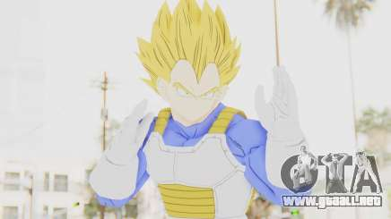 Dragon Ball Xenoverse Vegeta Android Saga SSJ para GTA San Andreas