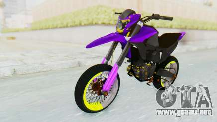 Honda NXR 160 Bros Supermoto Elite para GTA San Andreas