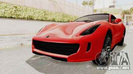 GTA 5 Grotti Bestia GTS v2 IVF para GTA San Andreas