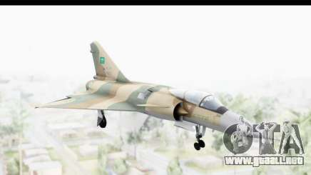 Dassault Mirage 4000 Royal Saudi Air Force para GTA San Andreas