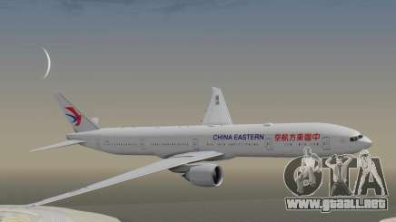 Boeing 777-300ER China Eastern Airlines para GTA San Andreas