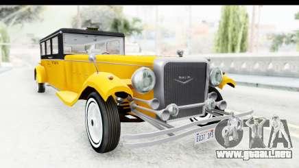 Unique V16 Fordor Taxi para GTA San Andreas
