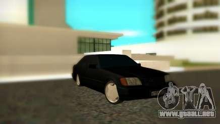 Mercedes-Benz S600 W140 AMG para GTA San Andreas