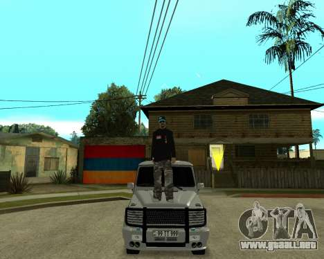 Armenian Skin para GTA San Andreas quinta pantalla
